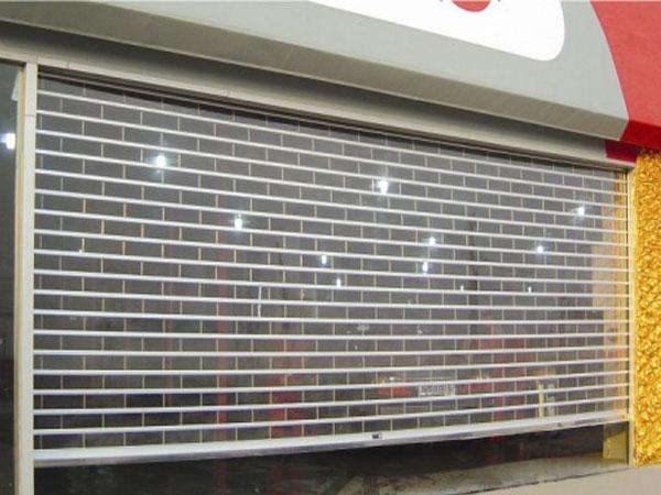 上海大型商场水晶卷帘门