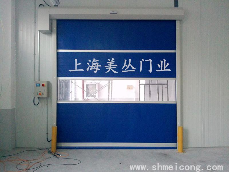 苏州某印刷厂快速门安装